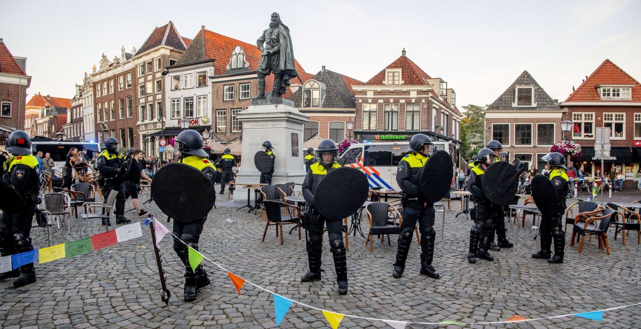 Niederlande Rassismus - © Foto: AP A/ AFP / ANP / Robin Utrecht