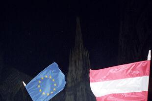EU Österreich - © Foto: picturedesk.com  / Hans Klaus Techt / APA-Archiv