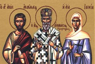 Apostelin Junia - © llustraiton: Rainer Messerklinger (unter Verwendung eines Bildes von Wikipedia)