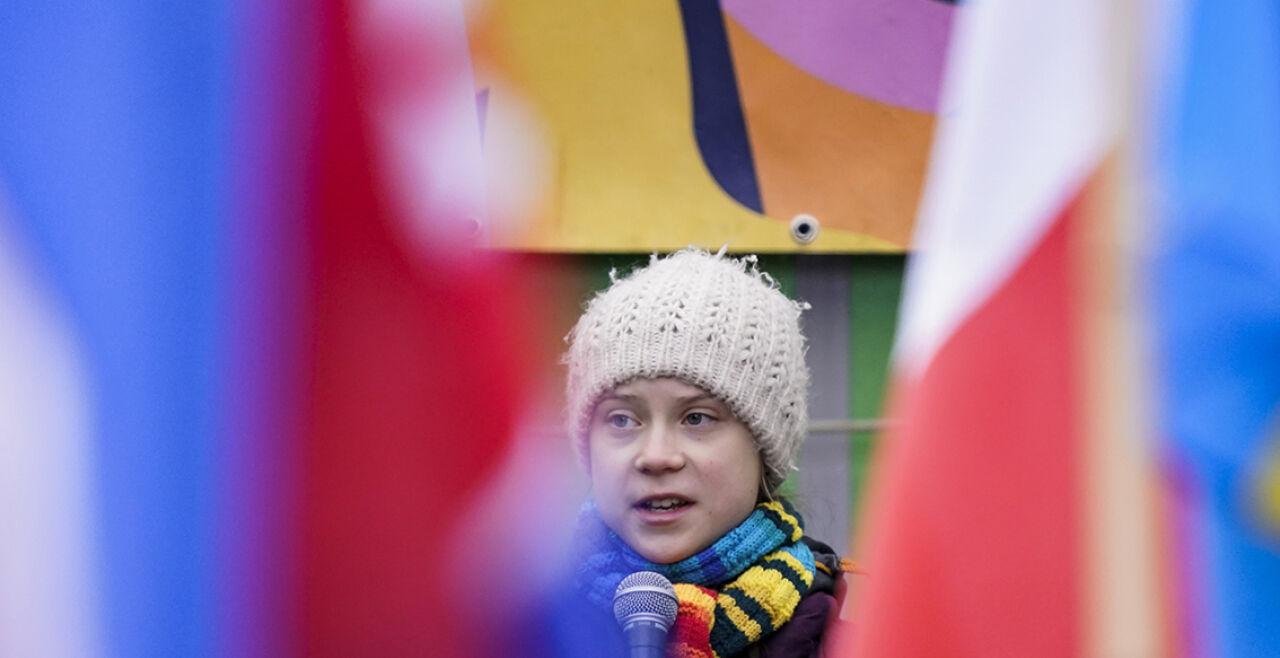 Greta Thunberg - © Foto:  APA / AFP / Kenzo Tribouillard