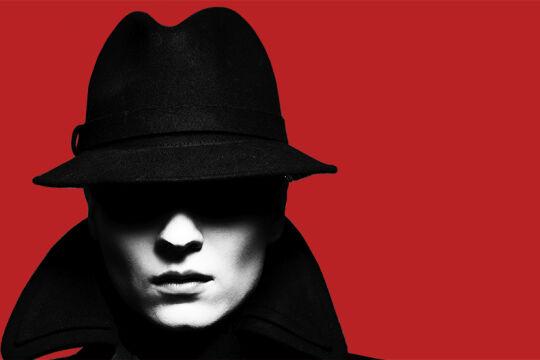 Spion - © Illustration: Rainer Messerklinger (unter Verwendung eines Fotos von iStock/VikaValter)