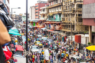 Lagos, Nigeria - © Foto: iStock/peeterv