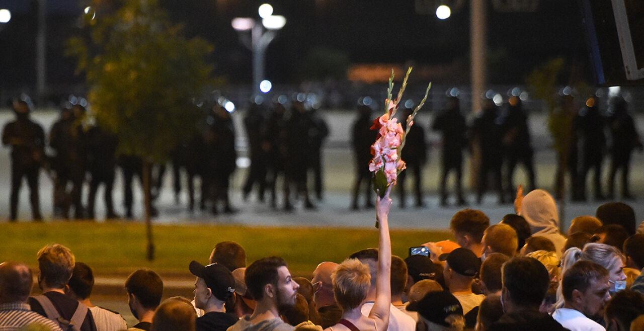 Minsk Proteste Lukaschenko - © Foto: APA / AFP  / Sergei Gapon