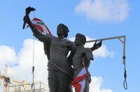 Beirut Denkmal - © Foto: APA / AFP / Joseph Eid