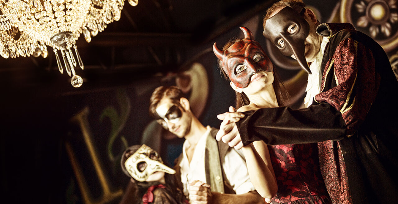 Maskenball - © Foto: iStock/Alina555