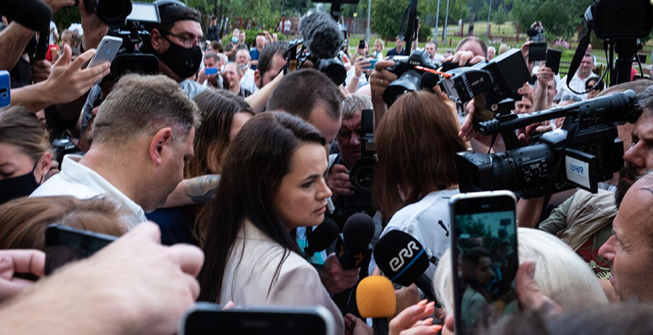 Tichanowskaja - © Foto: Getty Images / Misha Friedman