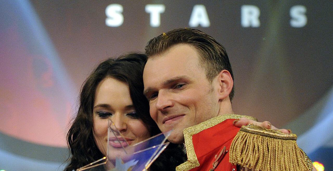 """Dancing Stars""-Gewinner Vadim Garbuzov und Roxanne Rapp - ""Dancing Stars""-Gewinner Vadim Garbuzov und Roxanne Rapp - © Foto: APA/Herbert Pfarrhofer"