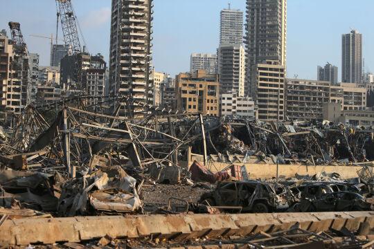 Beirut Explosion - © Foto: APA/AFP/STR
