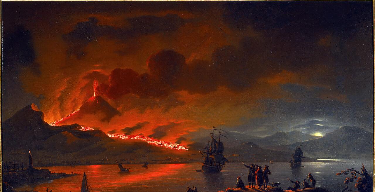 Vesuv - © Foto: © Gemäldegalerie der Akademie der bildenden Künste Wien