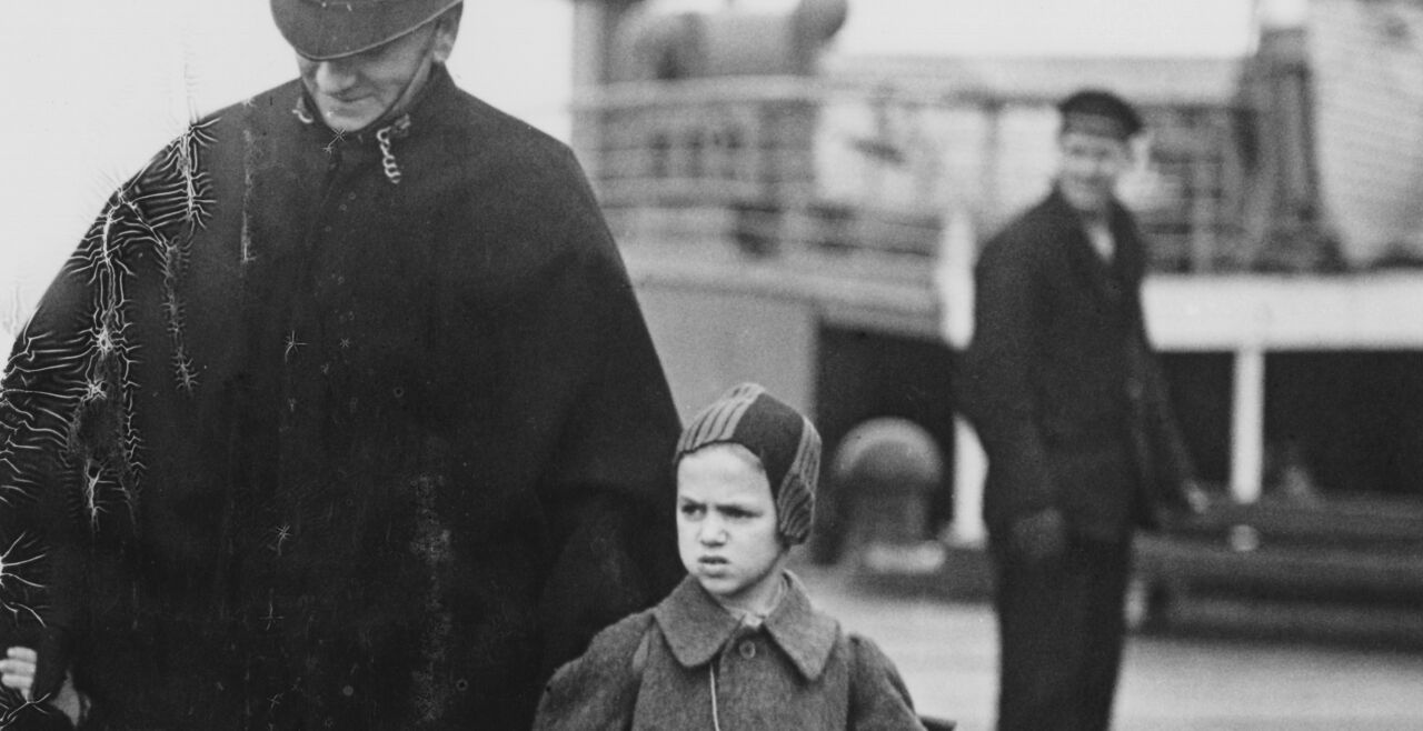 Jüdisches Kind - © Foto: Getty Images / Popperfoto