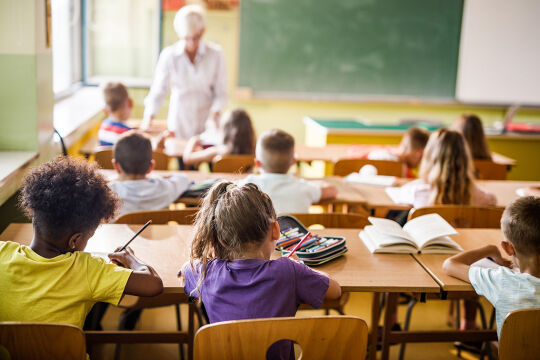 Klassenzimmer - © Foto: iStock/skynesher