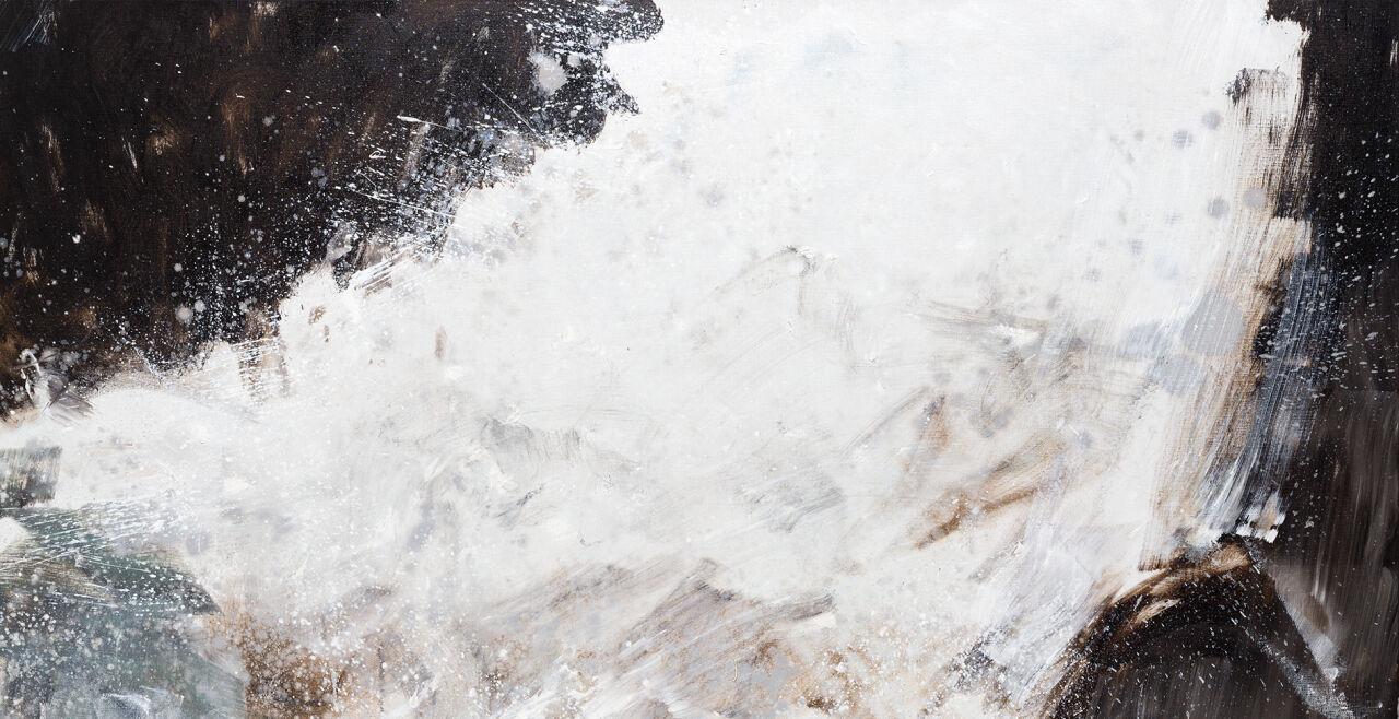 Brandl 1 - © Bild:  Herbert Brandl, Ohne Titel, 2019  Öl auf Leinwand, 250×200 cm  Sammlung Oesterreichische Nationalbank, Foto: Markus Wörgötter, Courtesy Galerie nächst St. Stephan Rosemarie Schwarzwälder, Wien