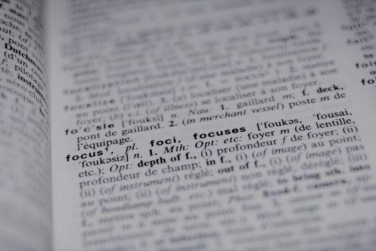 Wörterbuch - © Foto: Pixabay