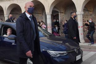 papst assisi - © APA / AFP / Tiziana Fabi