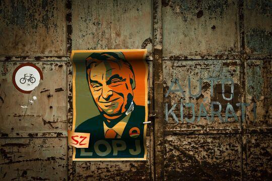 Plakat Viktor Orban - © Foto: Pixabay / Tibor Janosi Mozes