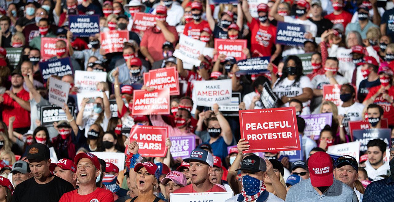 Trumpisten - © Foto: APA/AFP/Saul Loeb