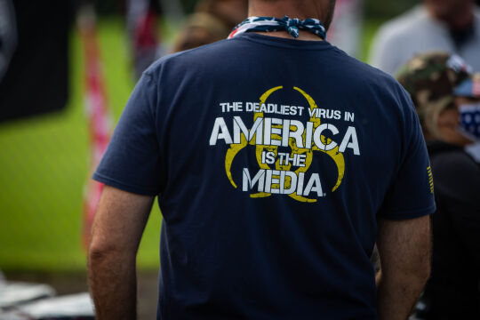 Proud Boys - © Foto: APA/AFP/Maranie R. Staab