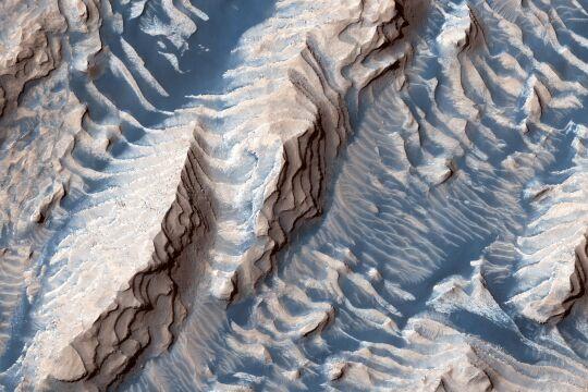 Krater am Mars - © NASA