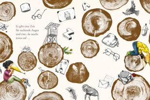 Zeit - © Illustration (Ausschnitt): Clara Frühwirth / Tyrolia