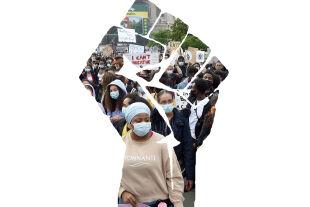 Black Lives Matter Rassismus in Österreich BLM - © Foto: APA / Hans Punz