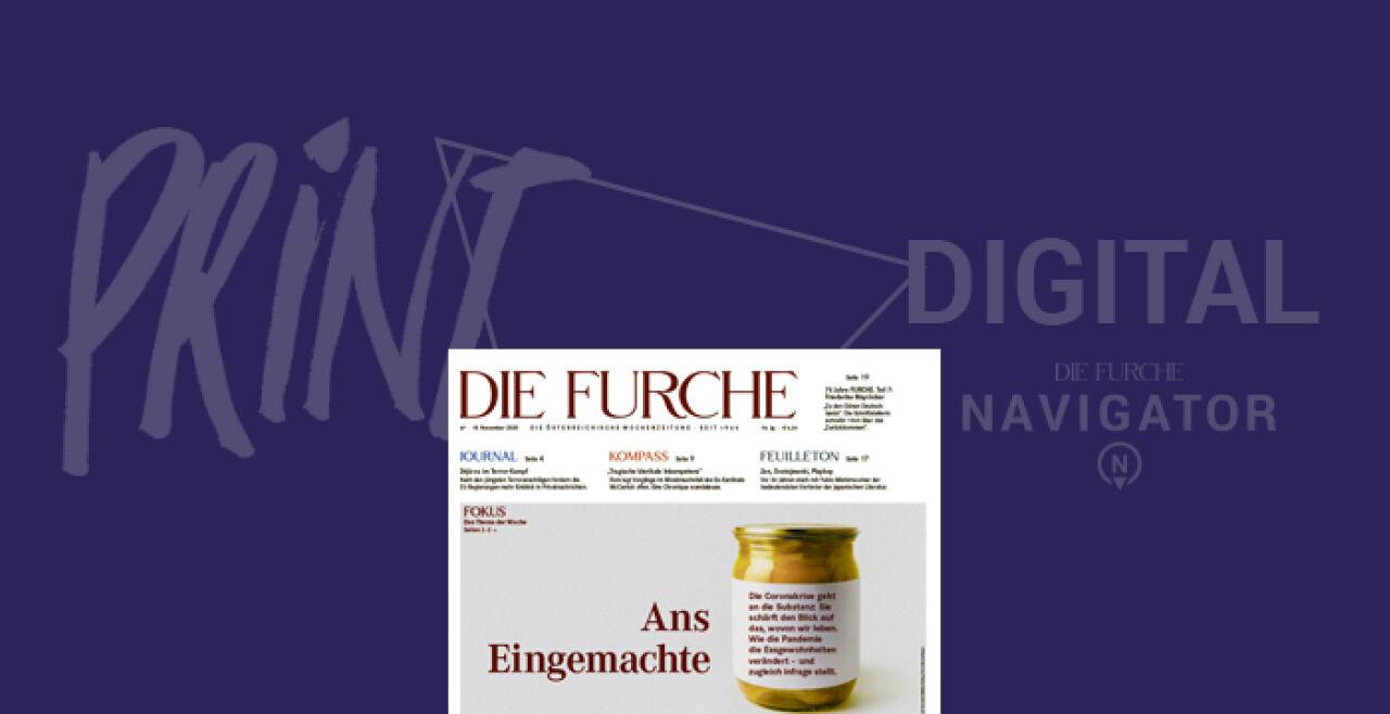 Cover Nr. 47 - © Foto: Furche Nummer