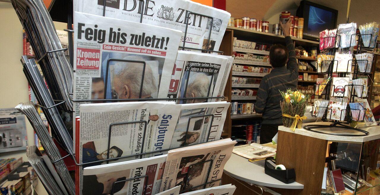 Zeitungen - © APA / Pfarrhofer