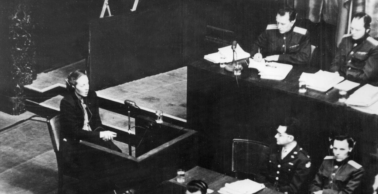Nürnberger Prozesse - © Foto: ullstein bild / Ullstein Bild / picturedesk.com