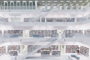 Bibliothek Stuttgart - © Foto: iStock / Zhang Shu