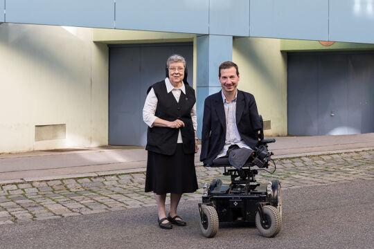 Schwester Beatrix Mayrhofer Georg Fraberger - © Carolina Frank