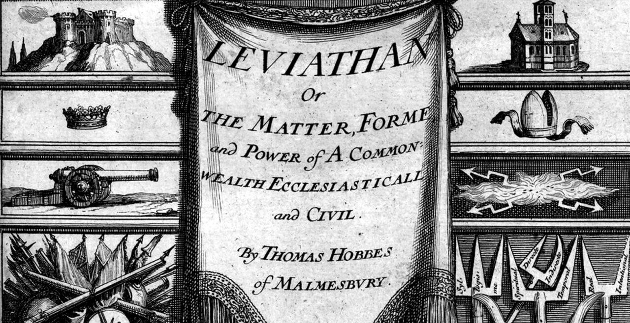 Leviathan Thomas Hobbes - https://www.loc.gov/exhibits/world/world-object.html http://www.securityfocus.com/images/columnists/leviathan-large.jpg, Gemeinfrei, https://commons.wikimedia.org/w/index.php?curid=226072 - © Gemeinfrei/commons.wikimedia.org
