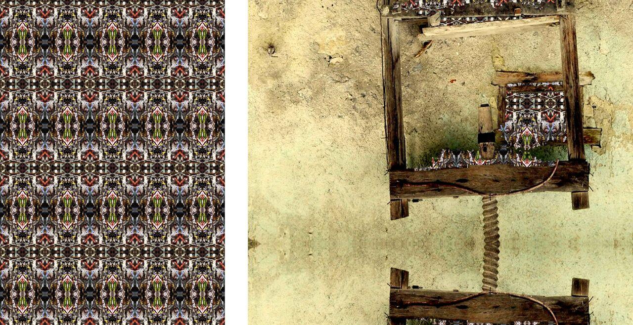 Hartwig Bischof: kreuzerstehung ausgepresst - © Foto: Hartwig Bischof