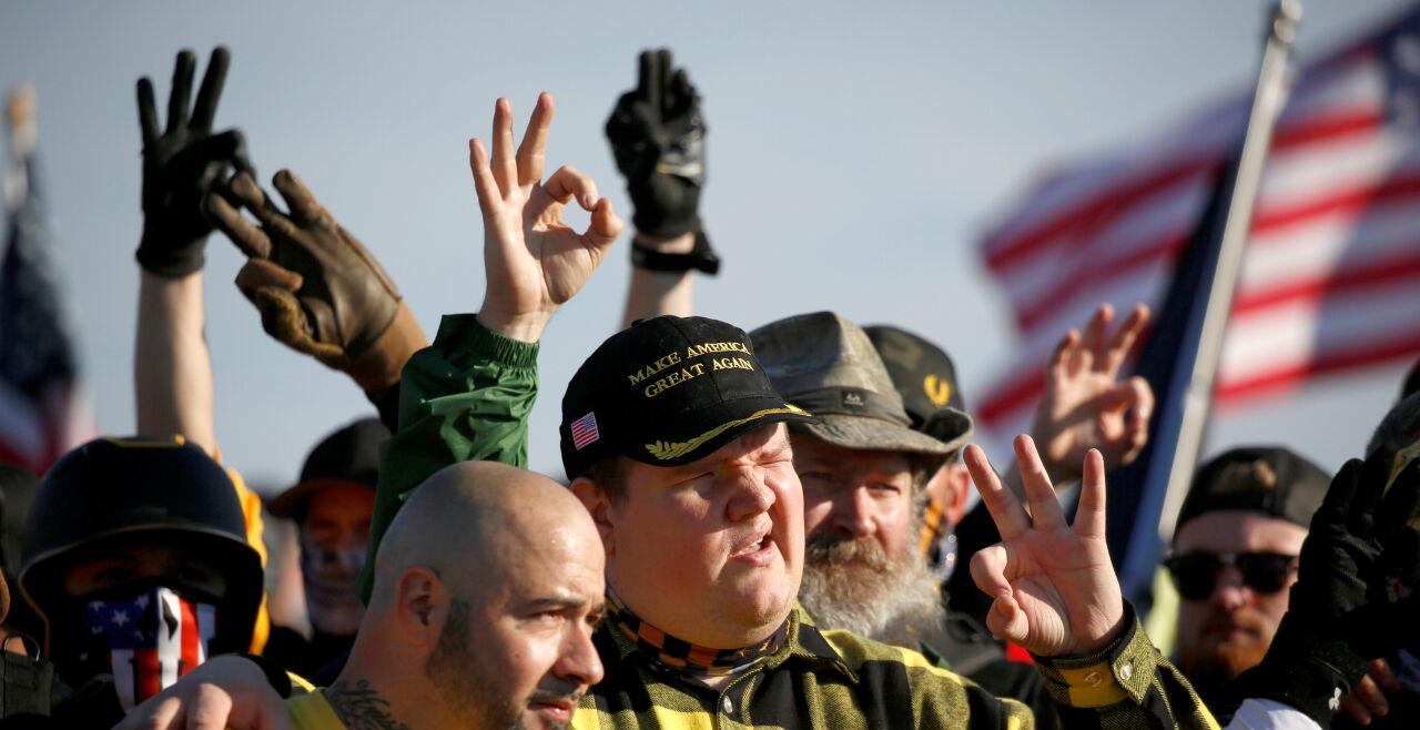 Proud Boys - © Foto: Jim Urquhart / reuters / picturedesk.com