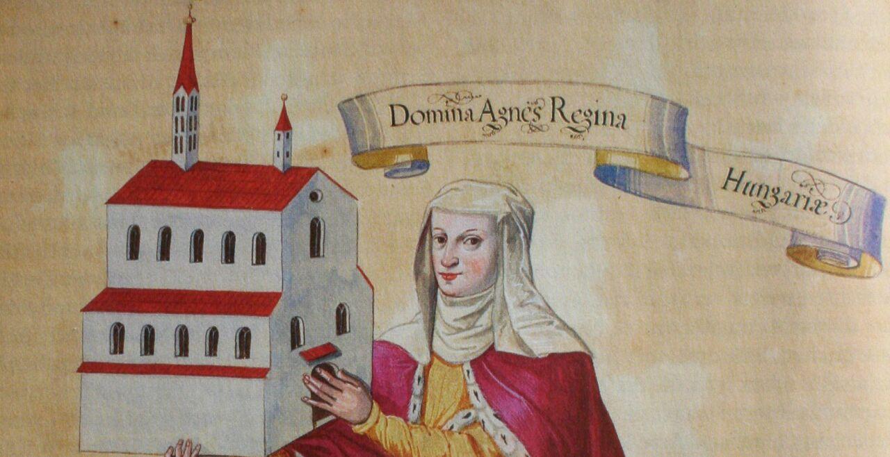 Agnes von Ungarn - © Foto: Wikipedia / Adrian Michael (gemeinfrei)