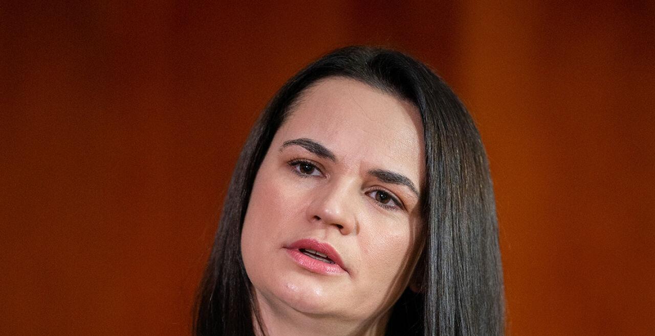 Swetlana Tichanowskaja - Swetlana Tichanowskaja (38), Gesicht und Stimme der weißrussischen Opposition, wurde mit dem Sacharow-Preis unterstützt. - © APA / Georg Hochmuth