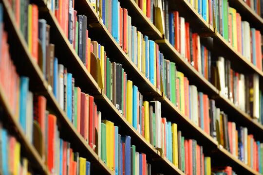 Bücherregal - © Foto: iStock / olaser