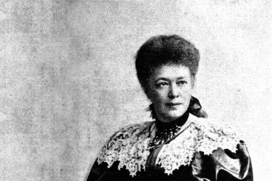 Ideengeberin Bertha von Suttner - Die Idee vom Frieden weitergeben und weiterleben. - © Wikipedia / Carl Pietzner (gemeinfrei)