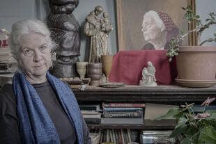 Martha Hennessy und ihre Großmutter selig - Selige Großmutter – Martha Hennessy ist die Enkelin der christlichen Sozialistin, Pazifistin, Frauenrechtlerin und Journalistin Dorothy Day. Seit 2000 läuft deren Seligsprechungsverfahren. - © Cristina Yurena Zerr
