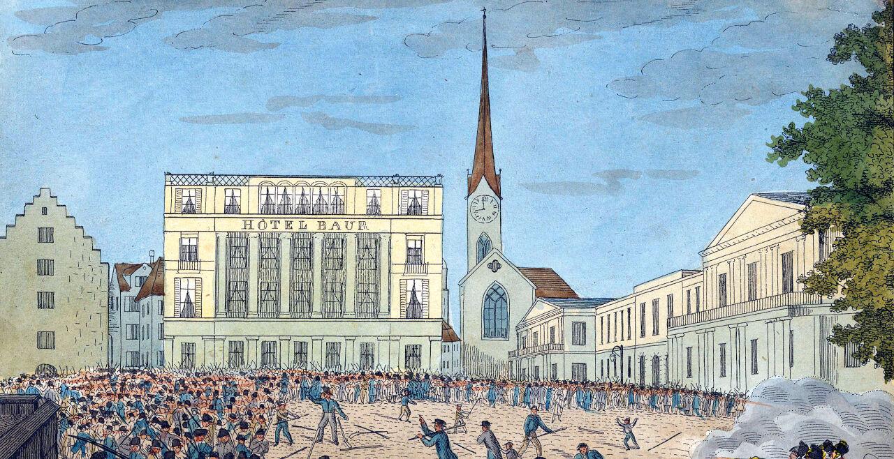 Putsch - © Foto: Wikipedia / Zentralbibliothek Zürich (gemeinfrei)