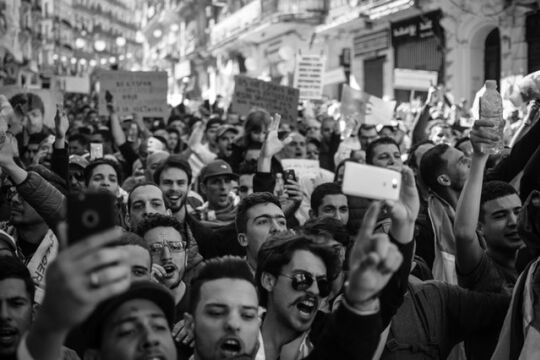 Proteste - © Photo by Amine M'Siouri from Pexels
