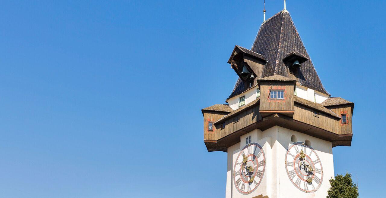 Uhrturm Graz - Großstadtphänomene - © Foto: iStock / Panama7