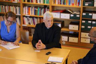Sosa - Arturo Sosa Abascal SJ: Der studierte Politikwissenschafter und Theologe aus Caracas wurde 2016 zum 31. Generaloberen der Jesuiten gewählt. - © Foto: Franziska Fleischer