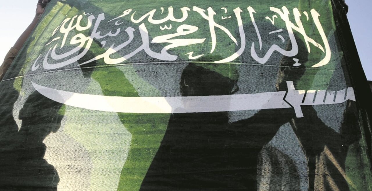 saudische flagge - © EPA