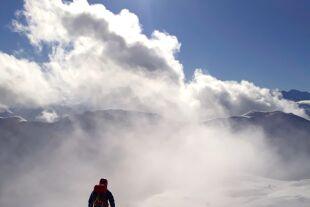 Abfahrtslohn nach Aufstiegsmühen - Ins freie Gelände sollten sich Skitourengeher nur mit ausreichender Expertise und Lawinenausrüstung wagen. - © Wolfgang Machreich