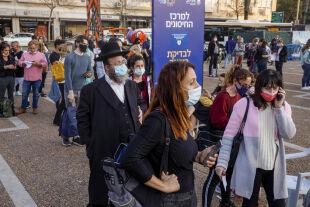Israel & Corona - © Foto: Getty Images/ Bloomberg / Kobi Wolf