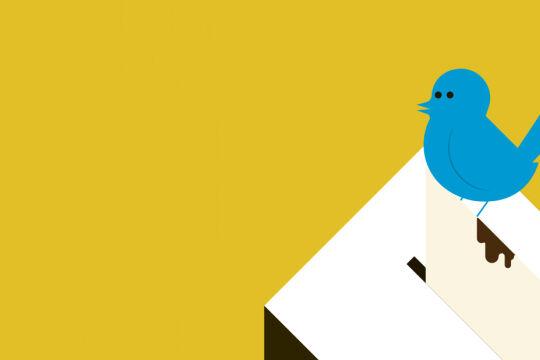 Der Twitter-Vogel hat Muskeln gezeigt,  - Twitter hat Donald Trump sein Megaphon entzogen. So froh viele darüber waren, so sehr beunruhigt das Faktum, dass hier ein IT-Unternehmen Kläger, Richter und Exekutor ist. - © Illustration: Rainer Messerklinger