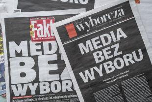 Polen Medien - © Foto: APA / AFP / Wojtek Radwanski