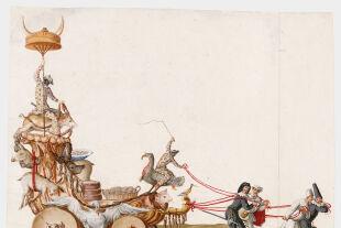 Faschingswagen - © Foto: Theatermuseum © KHM-Museumsverband
