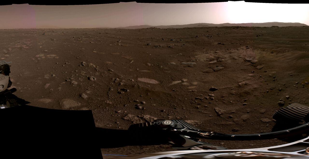 "Marspanorama (""Perseverance"") - © Foto: NASA/JPL-Caltech"