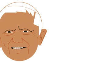 Ratzinger - © Illustration: Rainer Messerklinger