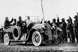 Kaiser Karl I Anfang 1918 in Italien. - Abschiedsgruß der Monarchie - © Foto: DEA / Biblioteca Ambrosiana
